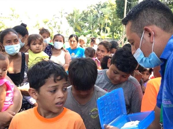 Ayuda a los damnificados de los Huracanes Eta e Iota