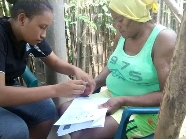 Voluntariado de asistencia comunitaria